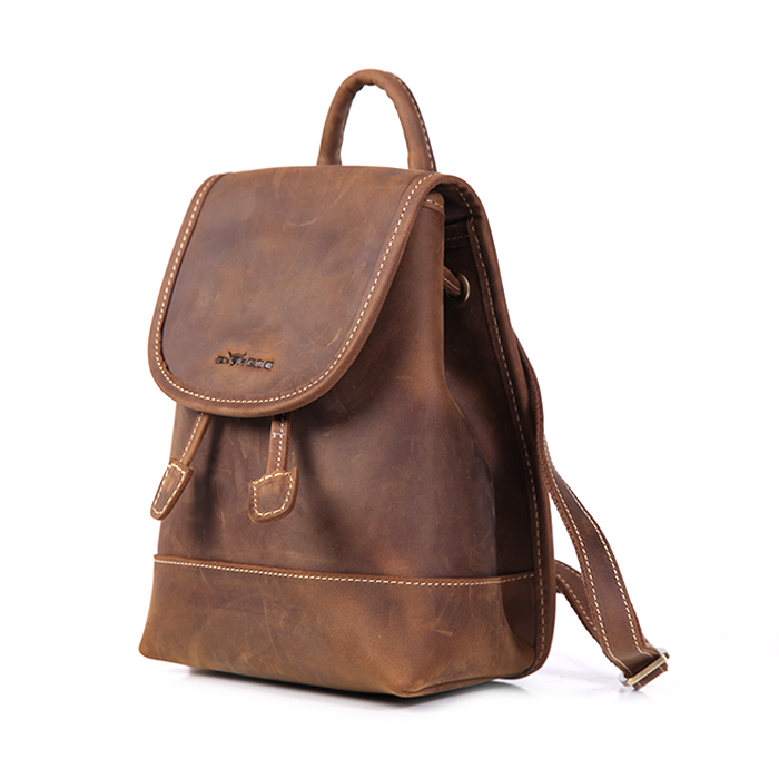 Leather Backpack (iPad Mini)