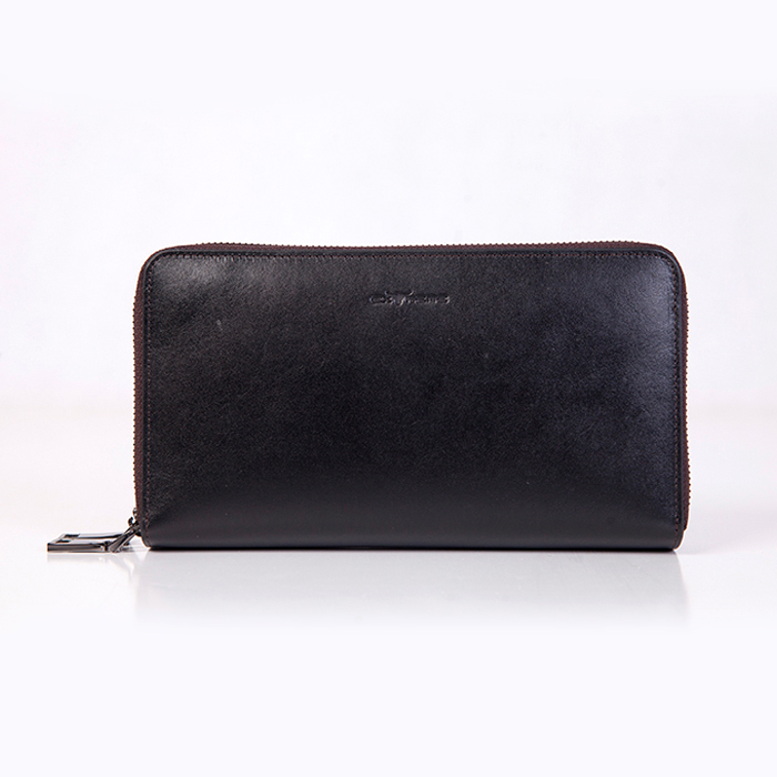 Italy Leather Clutch