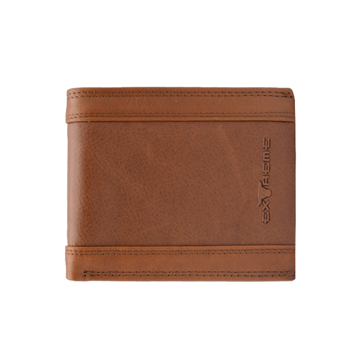 Leather Bifold Wallet With Mid Flip (H9.0 X L11CM)