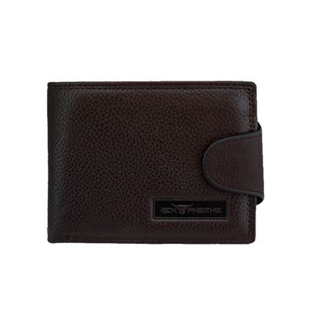 Extreme Leather Mid Flap Wallet