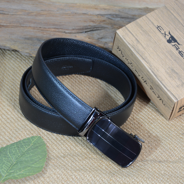 35mm Leather Auto Belt
