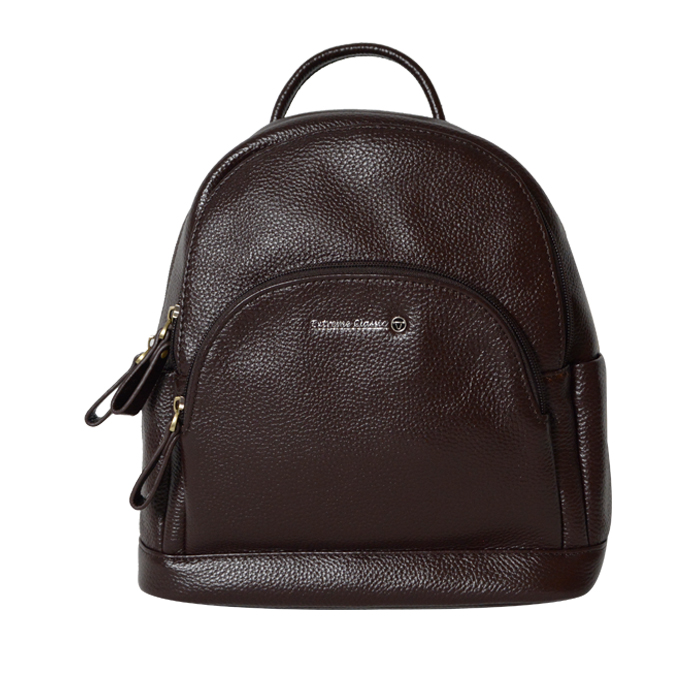 Extreme Genuine Leather Compact Backpack
