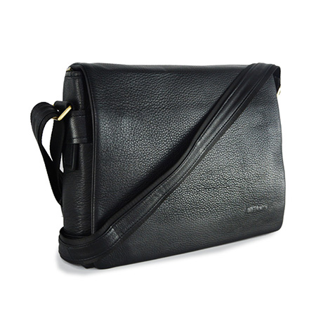 Leather Messenger Bag (Doc)