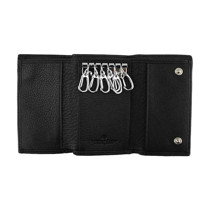 Extreme Genuine Soft Leather Trifold Key Wallet