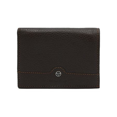Extreme Genuine Leather Card Wallet with Mid Flap