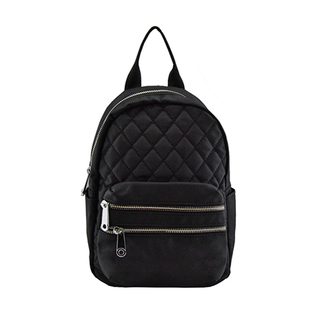 Backpack with Dimond Stitching Design