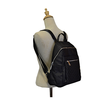 This Backpack with Dimond Stitching Design is a light bag made of nylon that is typically very comfirtable to carry around. It also comes with adjustable shoulder strap designed to wear over the shoulder or crossbody. Fashion Backpack is suitable for work, travel and leisure.