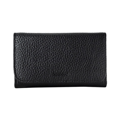 3 Fold Leather Medium Long Wallet