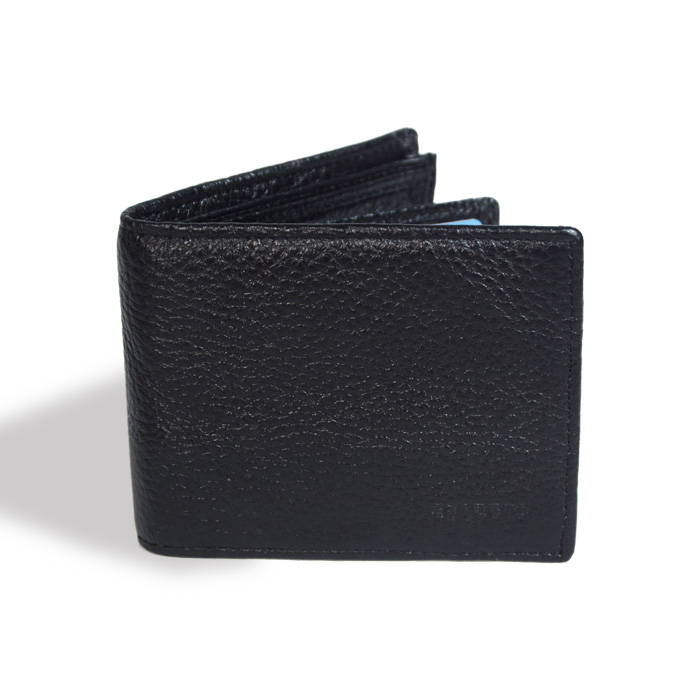 Leather Wallet with Secret Compartment
