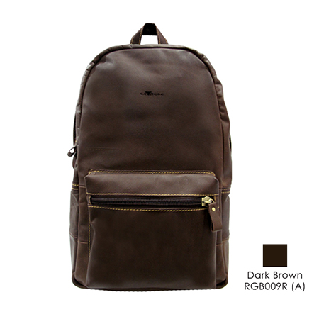 Leather Backpack (16