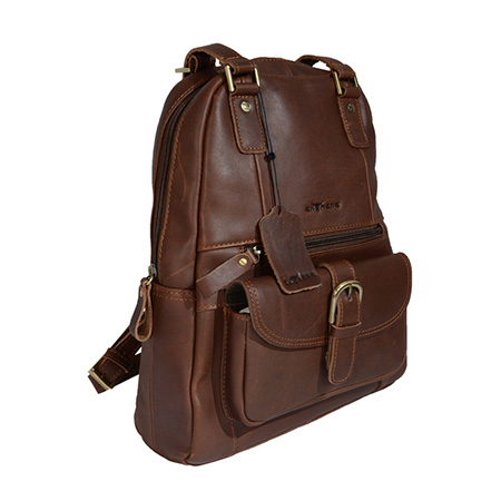 2 Way Leather Backpack
