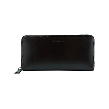 RFID Leather Clutch Bag