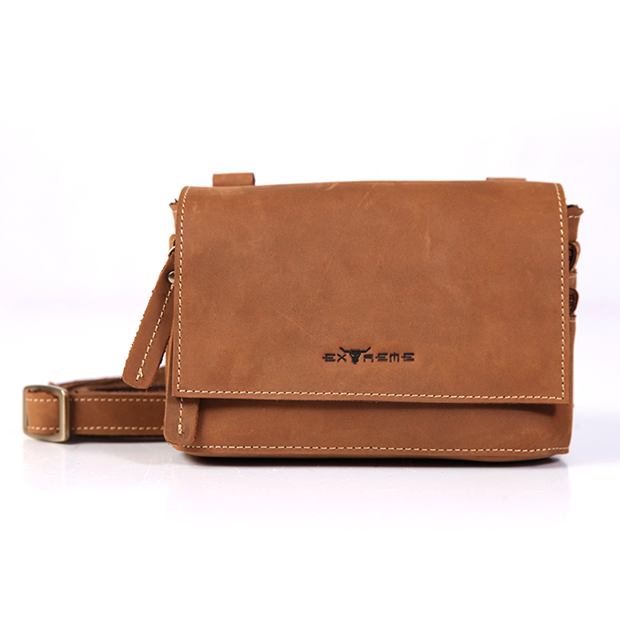 Leather mini Sling Bag