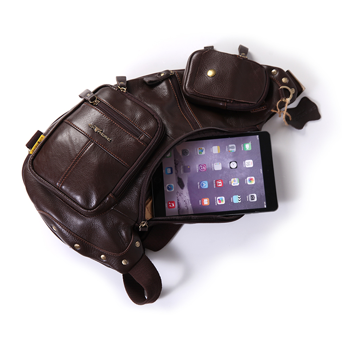 Leather Multifunction Bag
