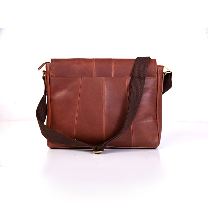 American Leather Messenger Bag