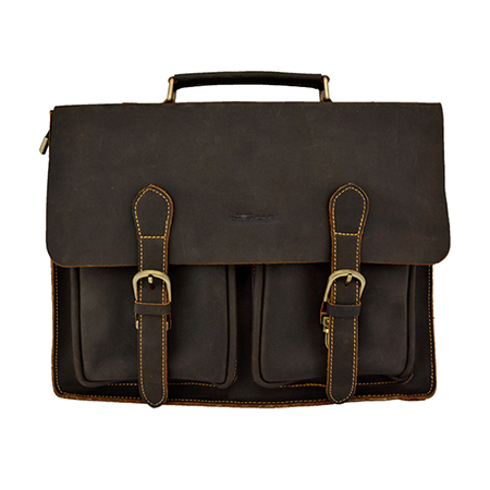 Leather Briefcase Bag (13inch Laptop)