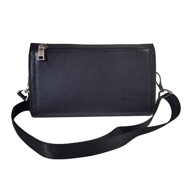 Leather Clutch 2 in 1