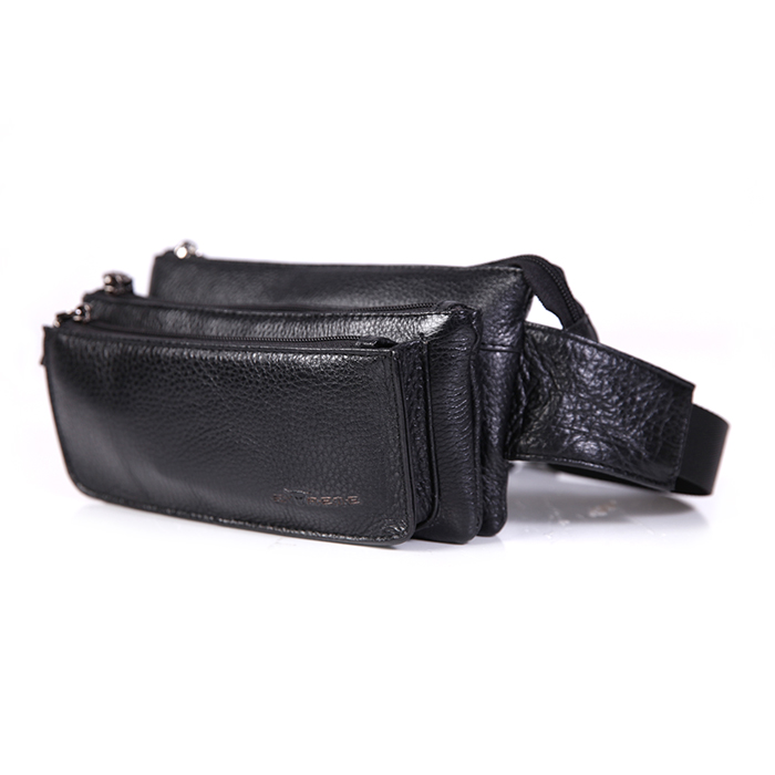 Leather Waist Pouch (iPhone 8 Plus)
