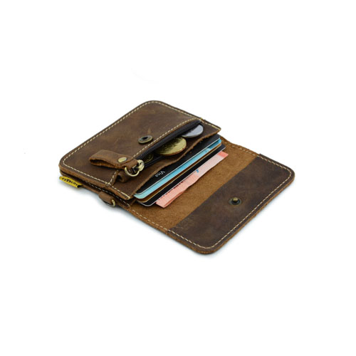 Extreme Leather Card Holder