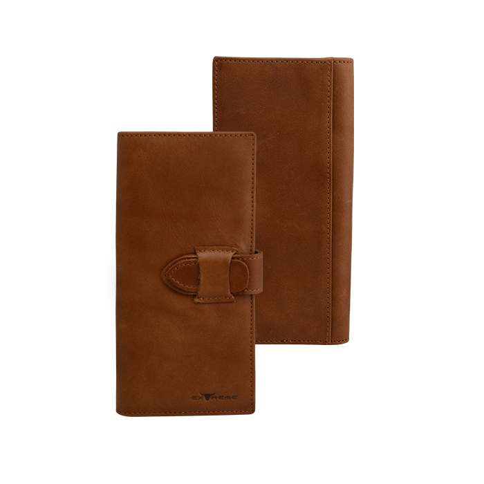 Extreme Leather Vintage Long Wallet