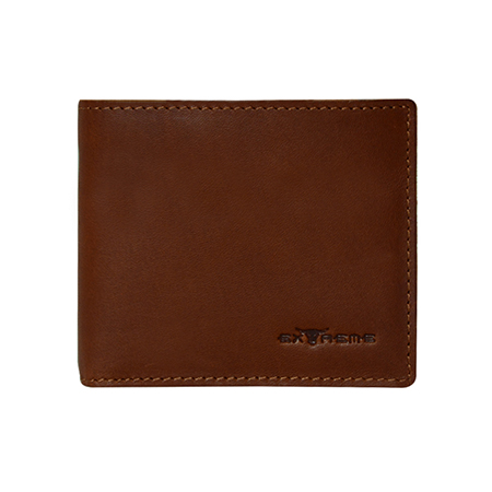 Extreme Genuine Leather Short Wallet with attached Cardholder