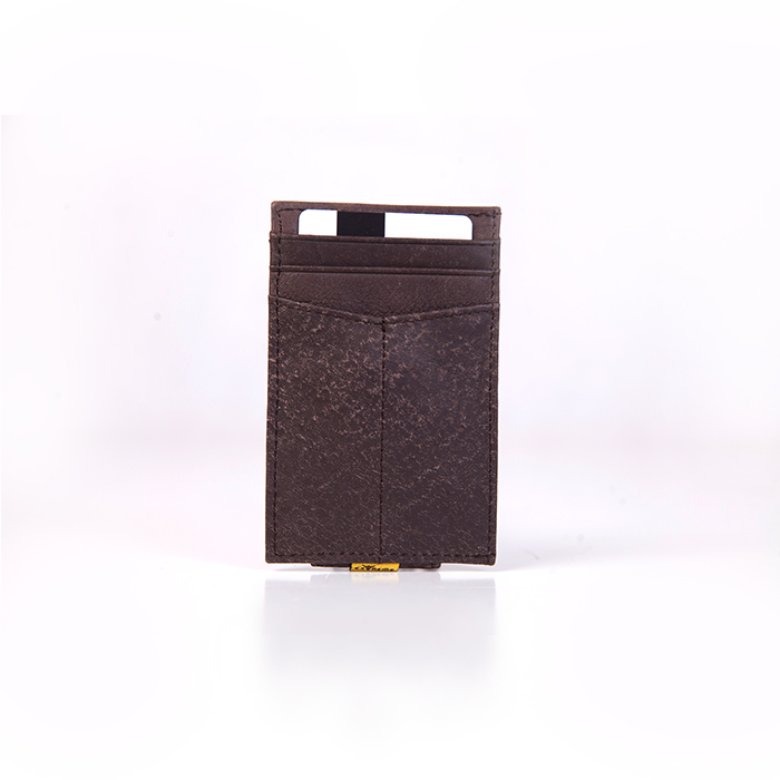 Nubuck Leather Money Clip
