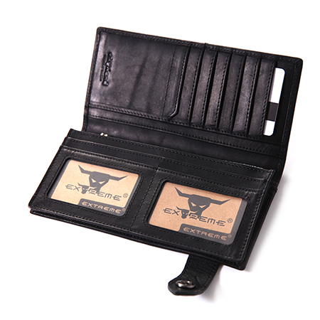 American Leather Long Wallet