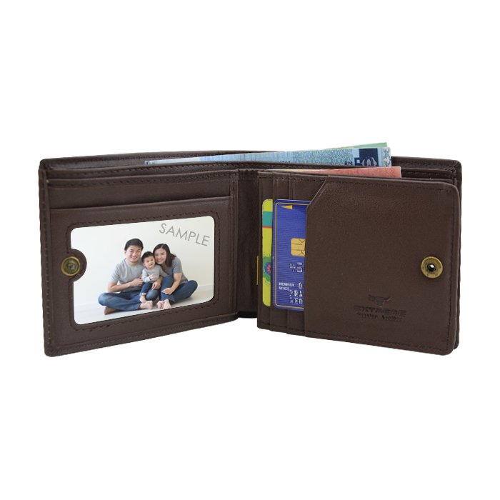 Extreme Leather Short Wallet