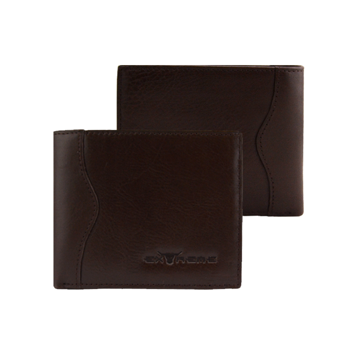 Extreme Genuine Leather Bifold Wallet