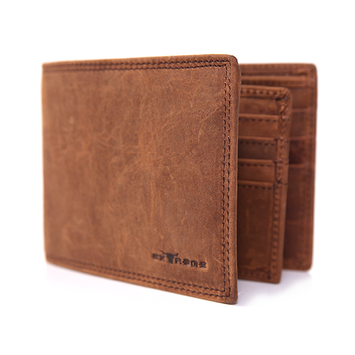 RFID w/o Hole American Leather XXL Wallet