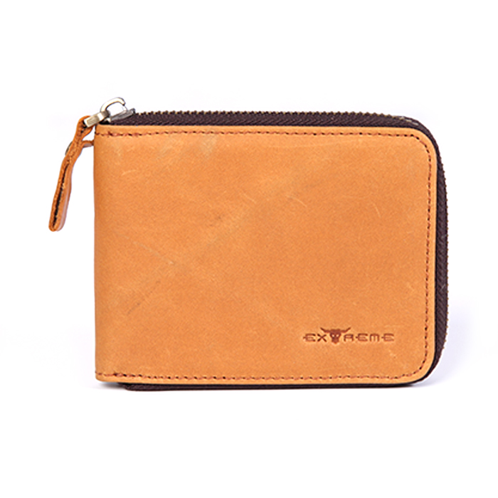 American Leather Fullzip Wallet