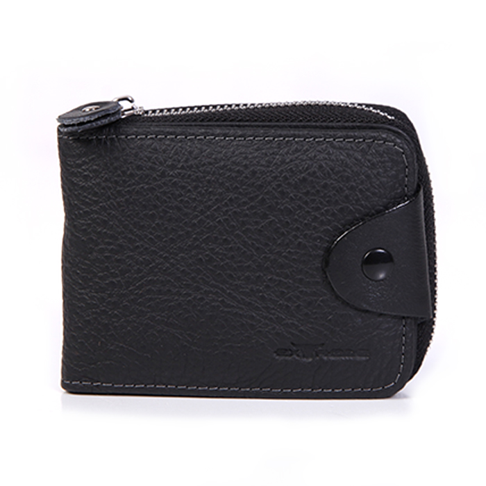Leather Full Zip Wallet