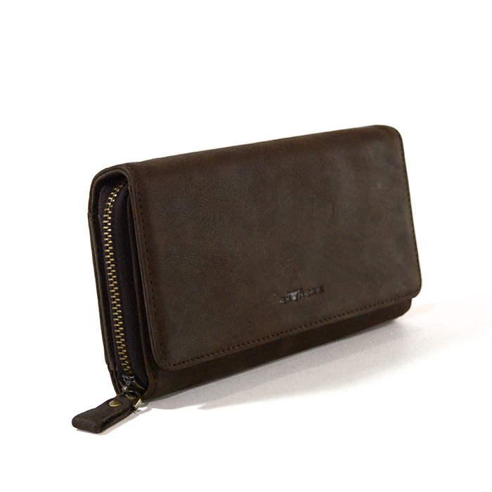 Leather Fullzip Long Wallet
