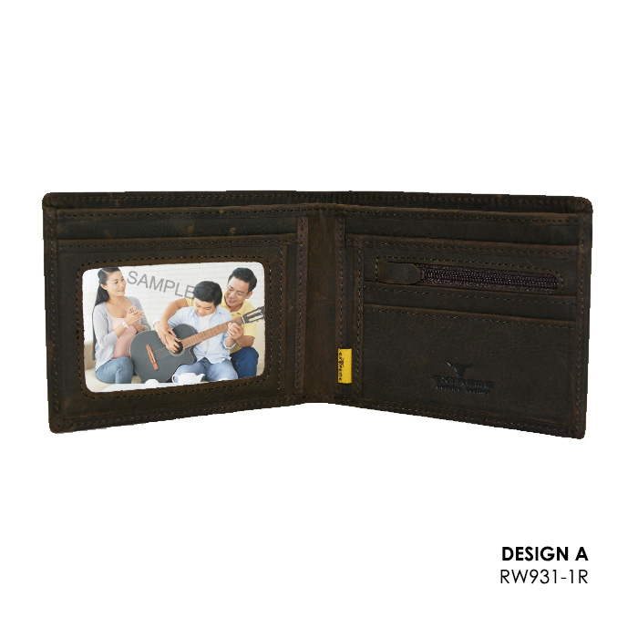 Leather Short Wallet (12 Slots)