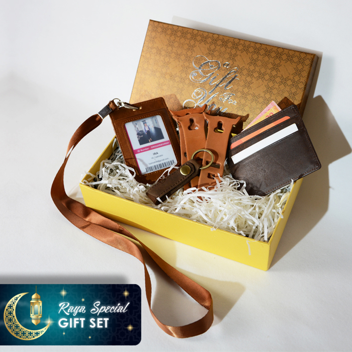 Ramadhan Leather Gift Set
