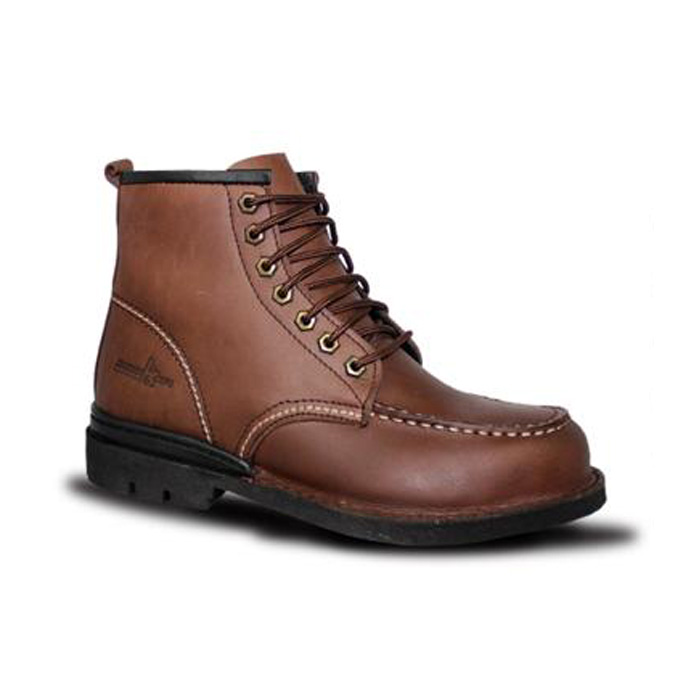 Mid Cut Lace Up Safety Shoes