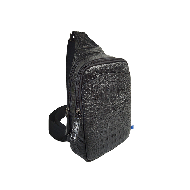 Single Strap Leather Chest Pack